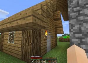 地下への小屋