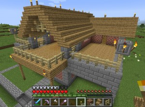 宿屋の建築
