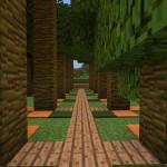 ジャングルの木