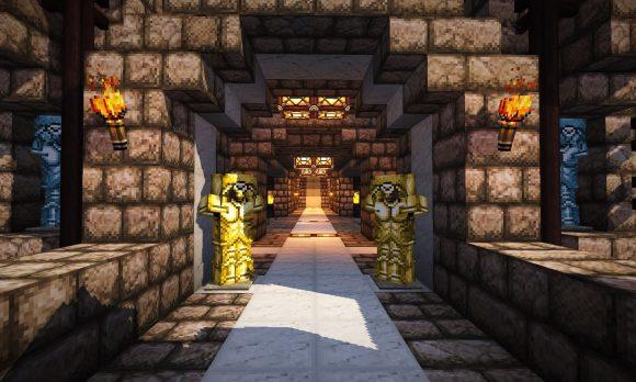 城の入り口