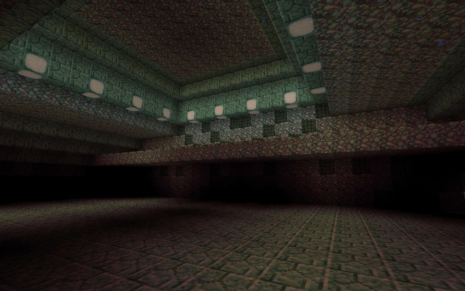海底神殿内部