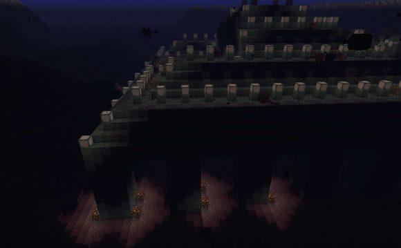 海底神殿の地面