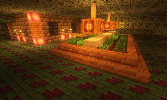 海底神殿の畑